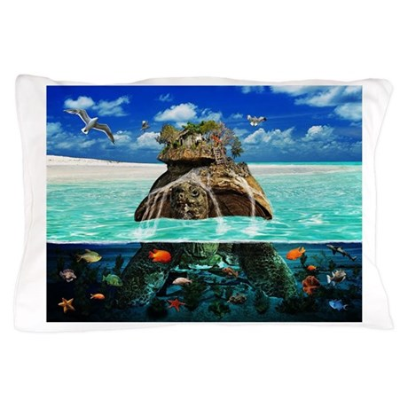 Turtle Island Fantasy Seclude Pillow Case