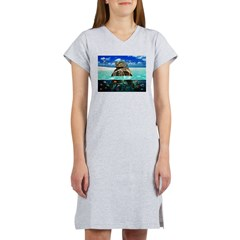 Turtle Island Fantasy Seclude Women's Nightshirt