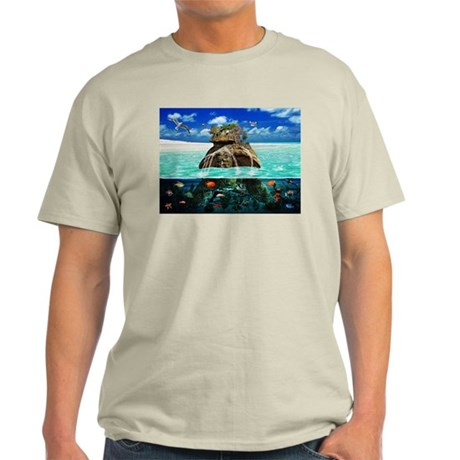 Turtle Island Fantasy Seclude Light T-Shirt