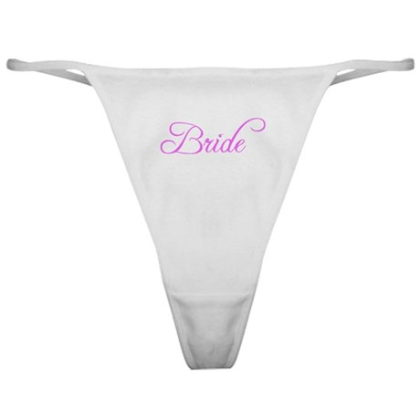 Bride Pink #6 Classic Thong