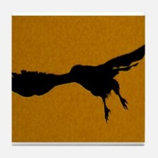 Cute Spirit hawk Tile Coaster