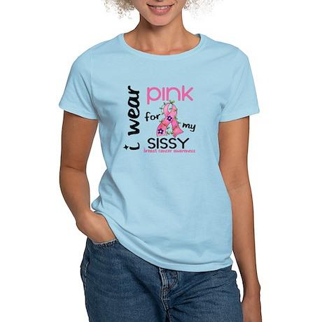 I Wear Pink 43 Breast Cancer Women's Light T-Shirt