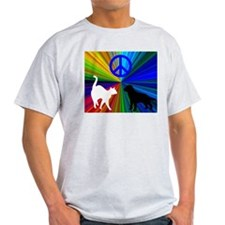 3 Paws / Cat and Dog T-Shirt
