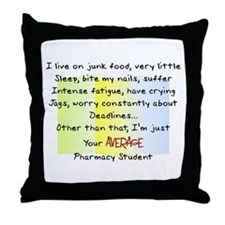PharmD Student Throw Pillow