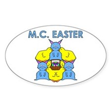 M.C. Easter Decal