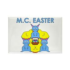 M.C. Easter Rectangle Magnet