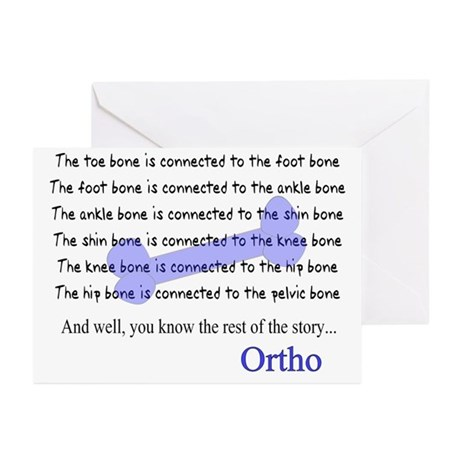 Orthopedics Greeting Cards (Pk of 20)
