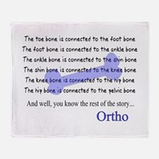 Orthopedics Throw Blanket