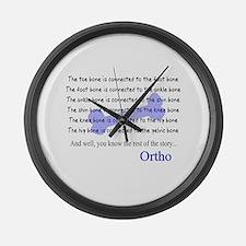 Orthopedics Large Wall Clock