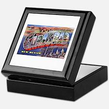 Carlsbad New Mexico Greetings Keepsake Box