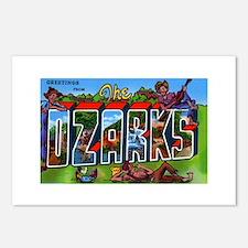 Ozarks Arkansas Greetings Postcards (Package of 8)