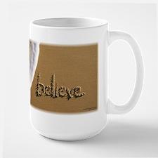 "Sand Script ""believe"" Mug"