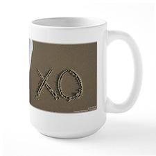 Kiss and Hug Sand Script Mug