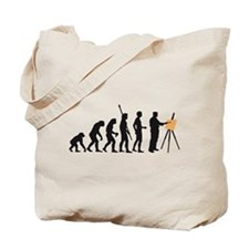 Cute Artist Tote Bag