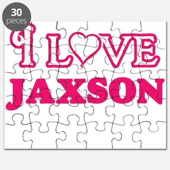 I Love Jaxson Puzzle