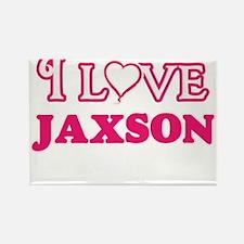 I Love Jaxson Magnets