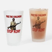 Free The Children 2012 KONY Drinking Glass