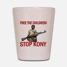 Free The Children 2012 KONY Shot Glass