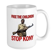 Free The Children 2012 KONY Mug