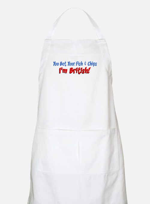 Bet Your Fish And Chips Apron