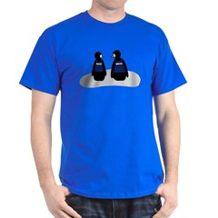 Castle Crime Solving Penguins T-Shirt