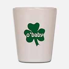 O'Baby Shamrock Shot Glass