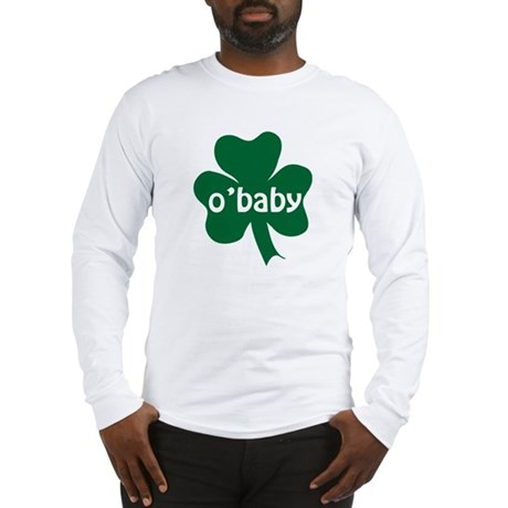 O'Baby Shamrock Long Sleeve T-Shirt