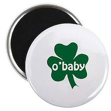 """O'Baby Shamrock 2.25"""" Magnet (10 pack)"""