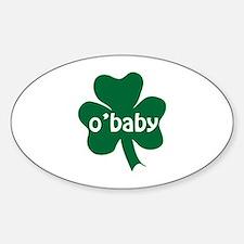 O'Baby Shamrock Decal