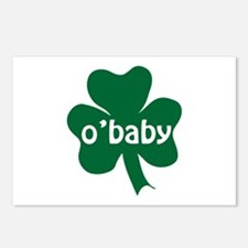 O'Baby Shamrock Postcards (Package of 8)