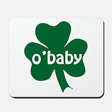 O'Baby Shamrock Mousepad