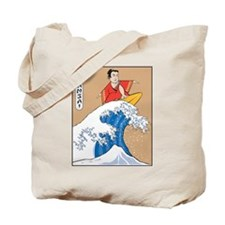 Bansai Surfer Tote Bag