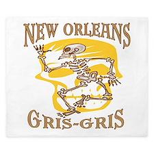 New Orleans Gris Gris King Duvet
