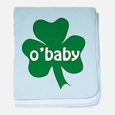 O'Baby Shamrock baby blanket