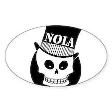NOLa Sign Decal
