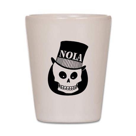 NOLa Sign Shot Glass
