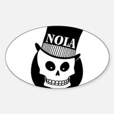 NOLa Sign Sticker (Oval)