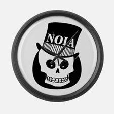 NOLa Sign Large Wall Clock