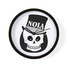 NOLa Sign Wall Clock