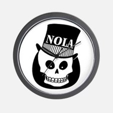 NOLa Sign Wall Clock