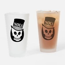 NOLa Sign Drinking Glass