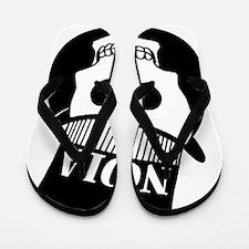 NOLa Sign Flip Flops