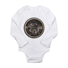 Original Meter Cover Long Sleeve Infant Bodysuit