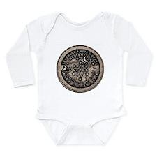 Original Meter Cover Long Sleeve Infant Bodysuit