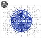 Where Ya At Water Meter Puzzle