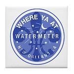 Where Ya At Water Meter Tile Coaster