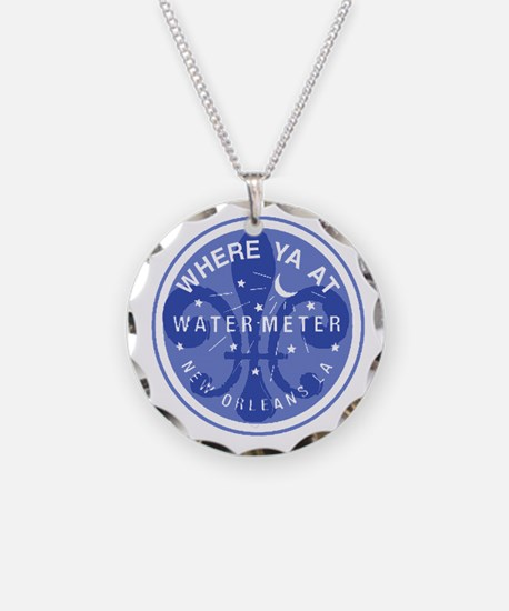 Where Ya At Water Meter Necklace