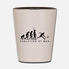 Evolution badminton Shot Glass