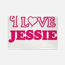 I Love Jessie Magnets