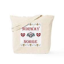 Norway - Norge Tote Bag